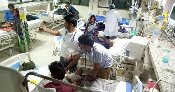 Gorakhpur deaths: Liquid supply of oxygen restored, Adityanath reaches hospital