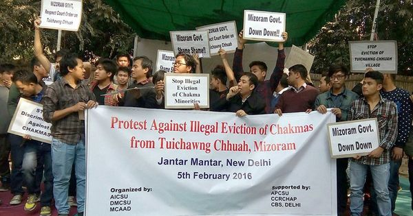 No state for Chakmas: In Mizoram, a minority battles for rights against a former minority