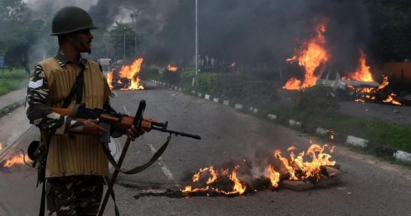 First person: 'Despite all the warning signs, my hometown Panchkula is on fire. Who is responsible?'