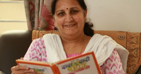 Forget all you've heard about technology-challenged grandparents – this nani makes her own podcasts