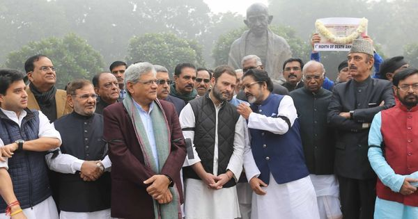 On the back of weak growth numbers, Opposition revives demonetisation to attack government with