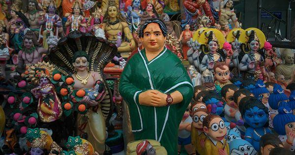In Chennai's festive season, Jayalalithaa dolls are giving the gods a run for their money