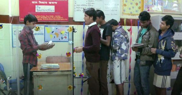 In Delhi, a bank run by street children for street children