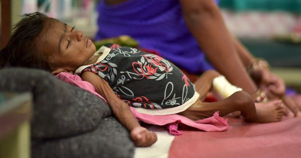 Worse than Iraq, Bangladesh and even North Korea – these charts show how hunger haunts India