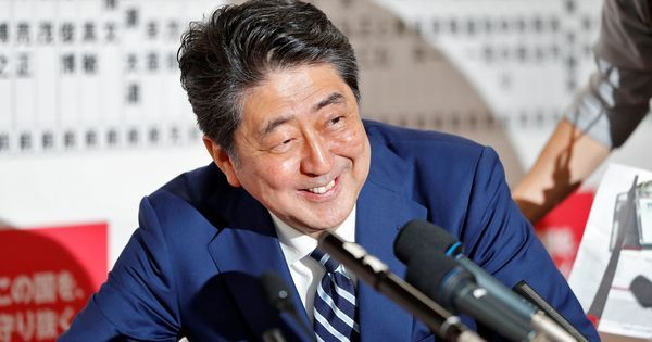 Japan: PM Shinzo Abe's ruling coalition retains two-thirds majority in Lower House