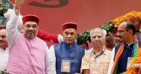 In Himachal Pradesh, the BJP's advantage is offset in the absence of a chief ministerial face