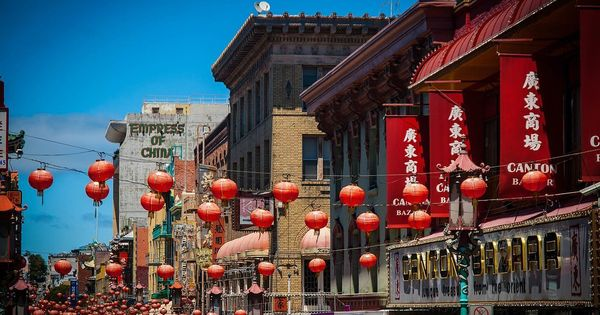 What an earthquake in San Francisco has to do with the appearance of 'Chinatowns' across the West