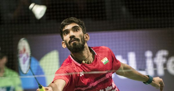 Video: Kidambi Srikanth is now world number one, watch him in action at the CWG today