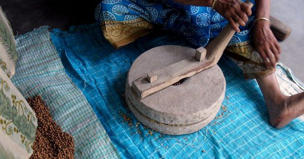 Back to the grind: A traditional stone used to make sattu flour is providing a livelihood to women