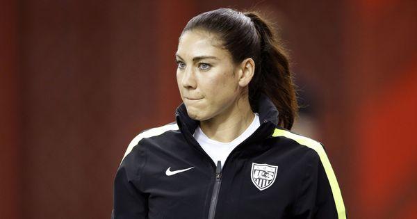 US footballer Hope Solo accuses Sepp Blatter of groping her during 2013 Ballon d'Or