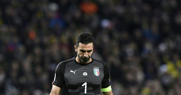 A mountain of a man, a giant of a goalkeeper: Twitter pays tribute to Buffon after teary exit