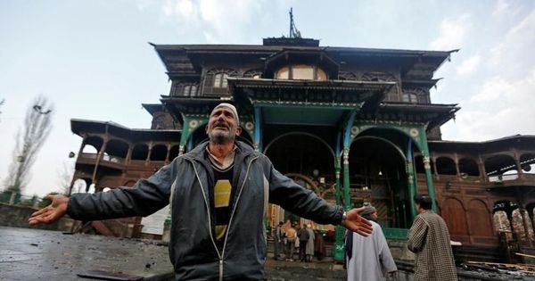 After a fire damages a 622-year-old Sufi shrine in Srinagar, caretakers blame government for neglect