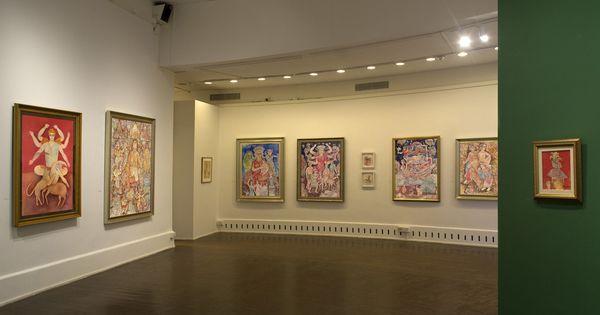 Sakti Burman: The artist who's the heir to the poets who composed Ramayana and Mahabharata
