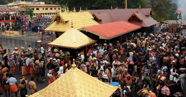 Kerala: 31-year-old woman stopped just before entering Sabarimala temple's inner sanctum
