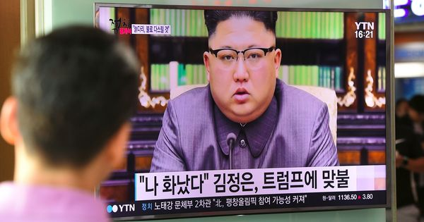 US President Donald Trump re-designates North Korea as a state sponsor of terrorism