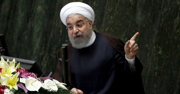 Iranian president says the Islamic State, 'fed and armed' by the West, has been defeated in Syria