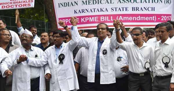 Medical bill tabled in Karnataka Assembly, jail clause removed after doctors' strike