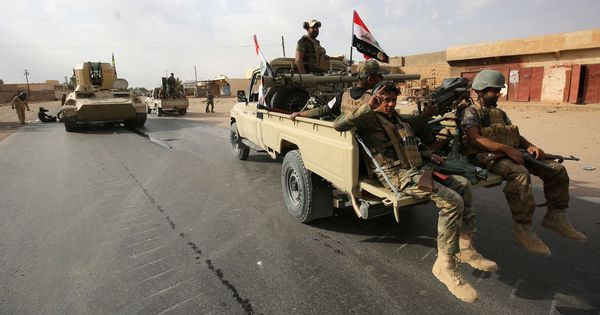 Iraqi forces launch offensive against Islamic State in desert region bordering Syria