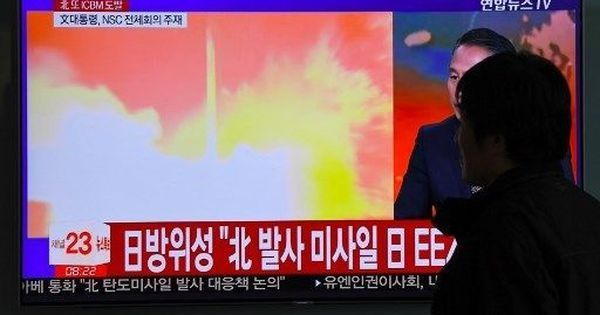 North Korea fires ballistic missile that can reach all of US, Kim Jong-un declares nuclear statehood