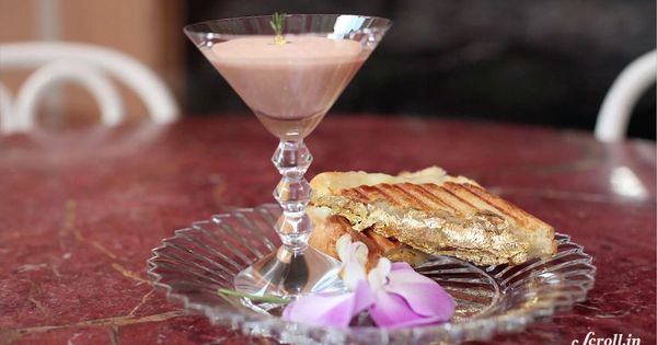 Watch a New York City chef create the world's most expensive sandwich, costing about Rs 15,000