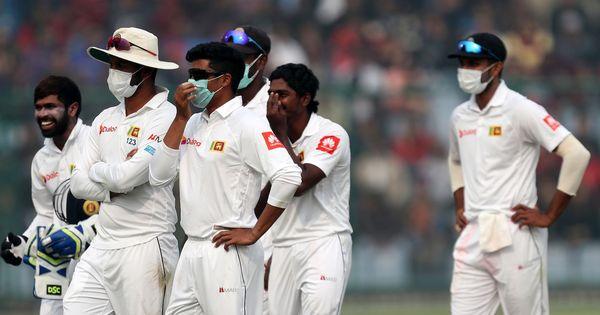 Controversy at the Kotla: Sri Lankan players struggle with pollution in Delhi