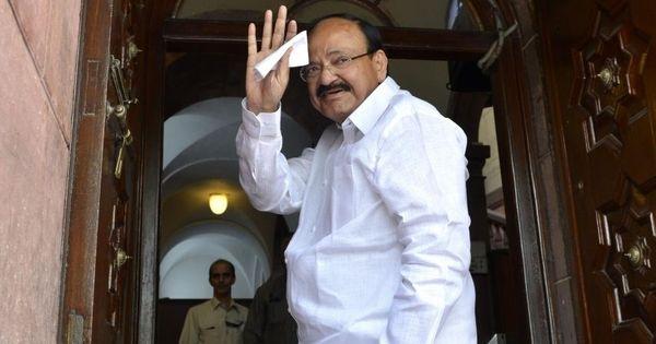 'Enforce Telugu,' Venkaiah Naidu tells chief ministers of Telangana and Andhra Pradesh