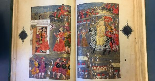 Illustrations: In the Dakhni romantic tale 'Phulban', love meets conspiracy and adventure