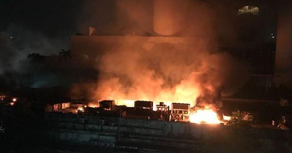 Cinevista fire: One body recovered from Mumbai film studio