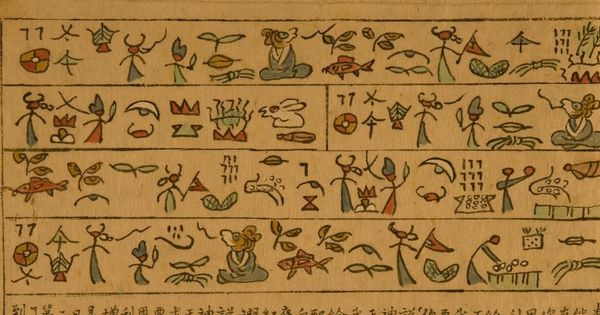 Photos and translations: The unique semi-pictographic dongba script of China's Naxi people