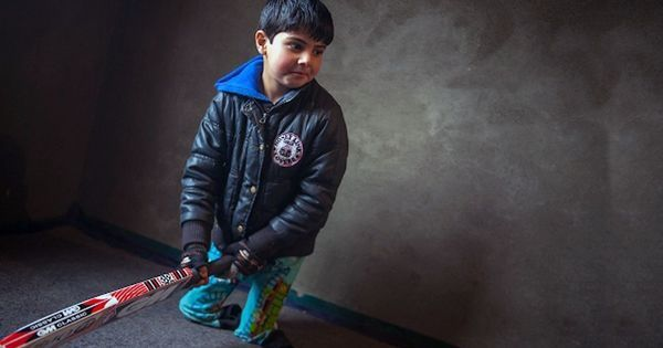 Video: 5-year-old Kashmiri boy, who lost his legs to a shell explosion, wants to become Virat Kohli