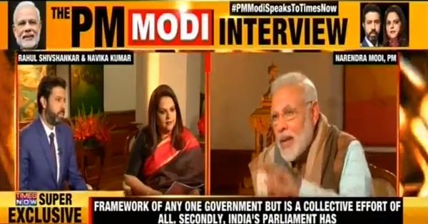 'Where do you get your energy from?': A list of tough questions Zee and TimesNow put to Modi