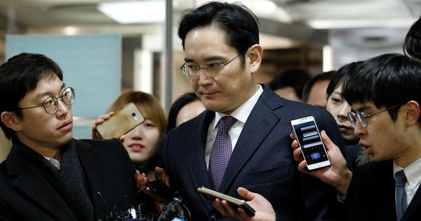 Samsung heir Jay Lee walks free as South Korean court suspends prison sentence in bribery case