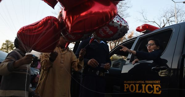 'Don't promote Valentine's Day celebrations': Pakistan media regulator tells channels
