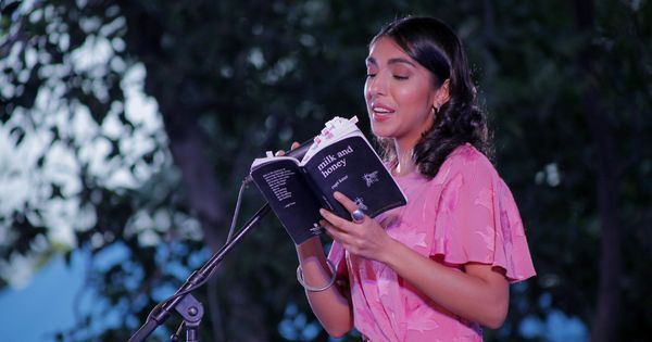 Inspiring poet or scripted performer? Rupi Kaur refuses to be labeled as one or the other