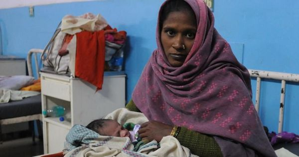 Gurugram: Woman delivers baby outside hospital after being denied admission for not carrying Aadhaar