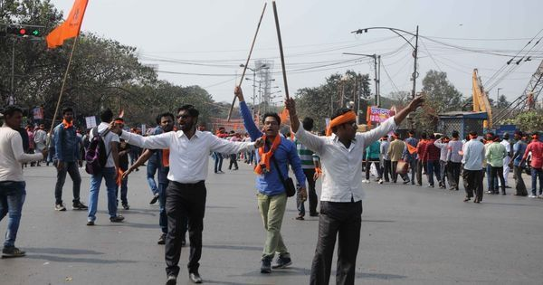 Kolkata: Hindutva outfit's leader, three others arrested for allegedly attacking journalists