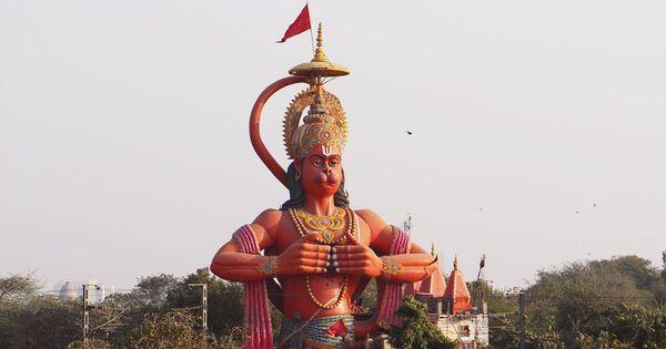 Video: In Delhi's Karol Bagh, a Hanuman statue that has got civic bodies in a legal deadlock