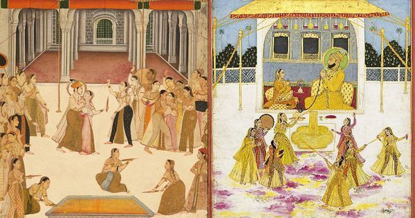 Video: How the Mughal emperors and other Indian royals celebrated the Hindu festival of Holi