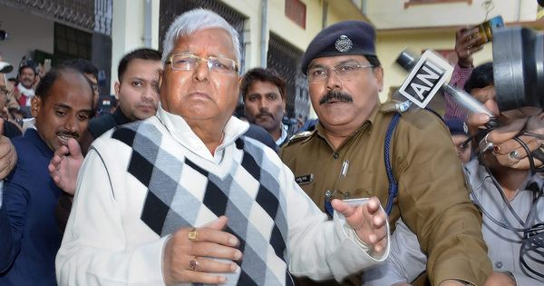 Ranchi court defers judgement in fourth fodder scam case against Lalu Prasad, Jagannath Mishra