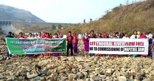 Spooked by shut-down call, Manipur government cancels plans of Modi inaugurating Mapithel dam