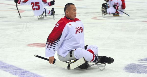 Winter Paralympics: Age no barrier for Japan's 61-year-old grandpa goaltender