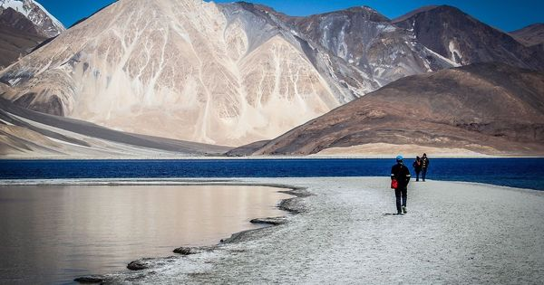 Ladakh's soaring popularity as a  tourist paradise has left the arid region water-starved