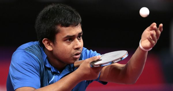 Table tennis player Soumyajit Ghosh booked for rape, doubtful for Commonwealth Games