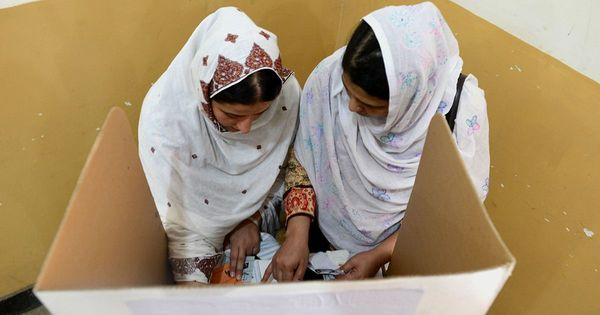 In a fairly prosperous region of Pakistan's Punjab province, women are still not allowed to vote