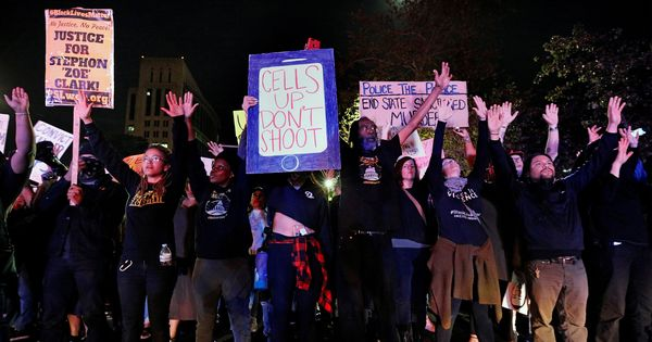 California: Protests erupt after private autopsy shows police shot black man in his back