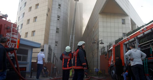 Turkey: Several patients evacuated as fire breaks out at Istanbul hospital