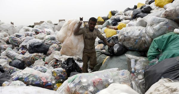 To manage the plastic crisis, developed world should divert aid to dumpsites in poor countries