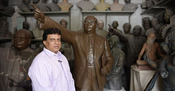 Video: Meet the man who has sculpted most of the official Ambedkar statues around the world