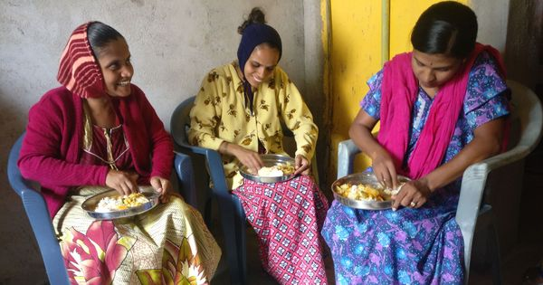 Karnataka is serving hot cooked meals to mothers but caste is coming in the way