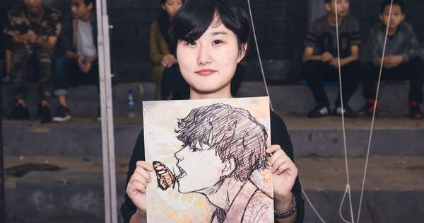 In manga-crazy Nagaland, a young woman's comic series has made her a minor star